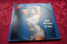 YENA  °  FELL THE BEAT OF LOVE - 45 T - Maxi-Single