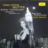 Anne-Sophie Mutter - New York Philharmonic - Kurt Masur  ( Brahms : Violinkonzert - Schumann : Fantaisie OP.131 ) - Klassik