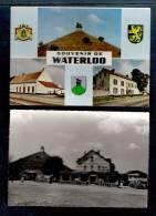 BELGIQUE-2 CARTES POSTALES- WATERLOO-LA BUTTE/LA BELLE ALLIANCE /LE CAILLOU - Waterloo