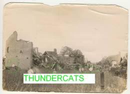 LANGEMARK  Originele Duitse Foto Verwoeste Boerderijen 1914-18 Zie Scans - Langemark-Poelkapelle