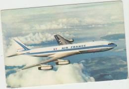 Themes Transports Aviation Avions Boeing 707 Intercontinental  Air France F-BHSB - 1946-....: Moderne
