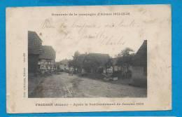 FRIESEN   Entrée Du Village   Animées  écrite En 1917 - France