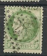 Fr  Pub Prix Fixe   YT N° 53 Oblitere Etoile De Paris  N° 28 - 1871-1875 Ceres