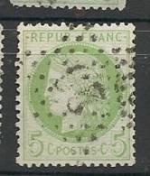 Fr  Pub Prix Fixe   YT N° 53 Oblitere Etoile De Paris  N° 29   RARE - 1871-1875 Ceres