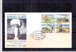 FDC Marshall Islands - Opération Crossroads - Bikini Atoll -  (à Voir) - Marshall