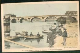 Vue Sur La Garonne Et Le Pont St Cyprien - Toulouse