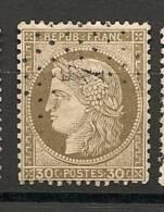 Fr  Pub Prix Fixe   YT N° 56 Oblitere Etoile De Paris  N° 4 - 1871-1875 Ceres