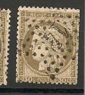 Fr  Pub Prix Fixe   YT N° 56 Oblitere Etoile De Paris  N° 14 - 1871-1875 Ceres