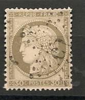 Fr  Pub Prix Fixe   YT N° 56 Oblitere Etoile De Paris  N° 15 - 1871-1875 Cérès