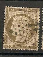 Fr  Pub Prix Fixe   YT N° 56 Oblitere Etoile De Paris  N° 16 - 1871-1875 Ceres