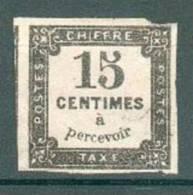 Collection FRANCE ; Taxe ; 1863-70 ; Y&T N° 4 ; Oblitéré - Impuestos