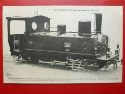 MACHINE TENDER  POUR TRAMWAYS DE L AIN CONSTRUITE PAR LES ATELIERS ROBATEL ET BUFFAUT A LYON - Trains