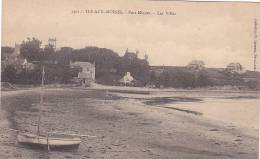22002 Ile Aux Moines -56 France - Port Miquet, Les Villas  3901 Laurent - Bateau à Gauche !