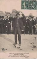 PARIS LE CHARMEUR D'OISEAUX AUX TUILERIES MONSIEUR DEIBLER  1911 - Petits Métiers à Paris