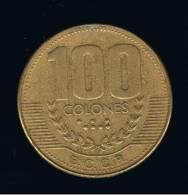 COSTA RICA -  100 Colones 1999   KM230 - Costa Rica