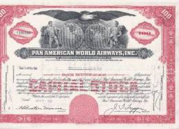 Pan American World Airlines, Inc. - Aviation