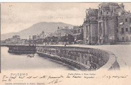 22016 Correspondance A Thomazi Marine Marin Ecrivain Brest Toulon Guerre- Porta Felice Foro Italico PALERMO - Italie