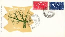 CEPT - FDC Italië - Stresa 17-09-1962 - Michel 1129 - 1130 - 1962