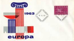 CEPT - FDC Finland - Helsinki 16-09-1963 - Michel 576 - Europa-CEPT
