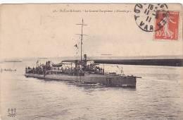 22019 Correspondance A Thomazi Marine Marin Ecrivain Brest Toulon Guerre- Militaire Contre Torpilleur Flamberge - Guerre
