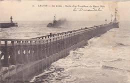 22020 Correspondance A Thomazi Marine Marin Ecrivain Brest Toulon Guerre Militaire -calais Jetées Torpilleur Durandal - Guerre