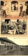 BEVERLOO - MILITARIA - 3 CPA - ECRITE - 1925-1930 - Leopoldsburg (Kamp Van Beverloo)