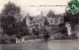 Corrèze - 9 - Meyssac, Chateau De Beauregard  -  Phototypie Beyssot Et Guionie, Brive - Other Municipalities