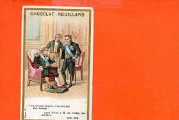 Chocolat Rouillard - Epicerie Centrale - A.Rouillard, Rue Jeanne D'arc - Rouen (pli Coin Gauche) - Chocolat
