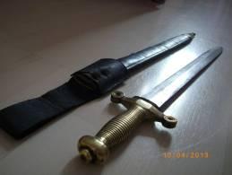 Sabre, épée, Gllaive De Pompier, Milieu 19éme. - Knives/Swords