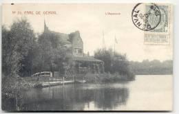 GENVAL-N°20 PARC DE GENVAL-L'AQUARIUM-SUPER-MARCOVICI-1911 - Rixensart