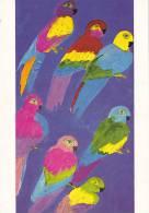 CPM WALASSE TING 7 Parrots 1981 New York - Illustrators & Photographers