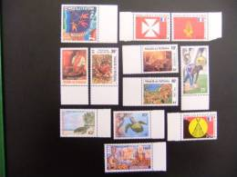 WALLIS ET FUTUNA  AÑO 1997  Yvert Nº 497 / 507 + 509 PA 197 / 198 MNH - Wallis Y Futuna