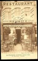 59 ROUBAIX / Café Restaurant Maurice, Grand Place / - Roubaix