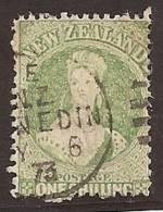NUEVA ZELANDA 1864/66 - Yvert #36 - VFU - Used Stamps