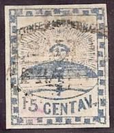 ARGENTINA 1858 - Yvert #3 - VFU - 1858-1861 Confederazione