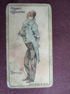 PLAYER´S CIGARETTES / DOMBEY / DOMBEY & SON / JOLIE CHROMO (CHARACTERS FROM DICKENS ) - Player's
