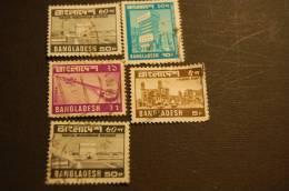 BANGLADESH 5 VALORI USATI - Bangladesch
