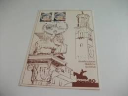 Verona 80 Ruolo Veterani Filatelia Italiana Grafica Marta Giuliani - Betogingen
