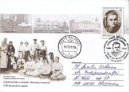MOLDOVA , MOLDAVIE , MOLDAWIEN , MOLDAU , 2010 , C. Cazimir , Philanthropist , Medicine , FDC , Used Pre-paid Envelope - Moldova