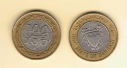 BAHRAIN -  100 Fils 1992  KM20  BIMETAL - Bahrein
