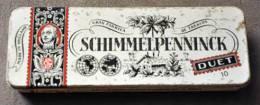 Boite A Cigares Métal - Schimmelpennnick - Vide - RARE - Boites à Tabac Vides