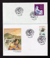 Lettres CàD LA MESSAGERIE DU NOUVEAU MONDE 68 Riquewihr 2003 Bas-Rhin - Réf A236 - Marcophilie (Lettres)