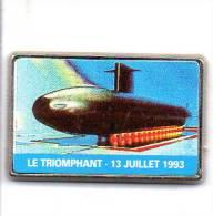 BATEAUX MARINE NATIONALE SM LE TRIOMPHANT - Schiffahrt