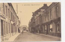 AULNOYE - Rue  De La Gare - Animée - Aulnoye