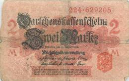 Billet Réf 305. Allemagne, Germany - 2 Mark - To Identify