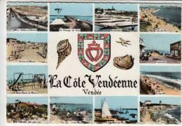 Jard, Aiguillon Sur Mer, La Tranche, Saint Vincent, Longeville, Notre Dame De Monts, Fromentine, St Jean, Croix De Vie.. - France