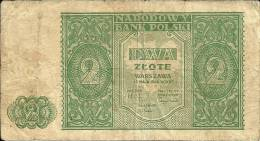 NARODOWY BANK POLSKI  2 DWA ZTOTE - Pologne