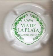 PLACA DE CAVA VIA DE LA PLATA  (CAPSULE) BLANCA - Mousseux
