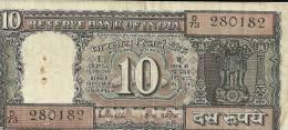RESERVE BANK OF INDIA  3 Billets  TEN RUPEES - Inde