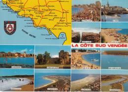 85 - Aiguillon, Longeville, La Chaume, Talmont Bourgenay, Tranche Sur Mer, Chateau D'Olonne, St Vincent Jard, Faute - Francia